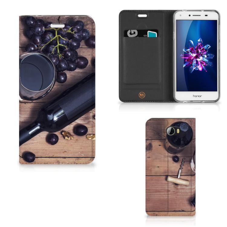 Huawei Y5 2   Y6 Compact Flip Style Cover Wijn
