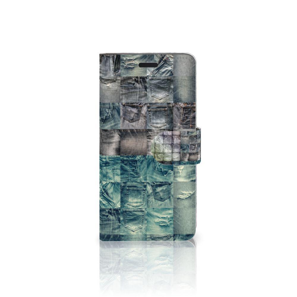 HTC 10 Uniek Boekhoesje Spijkerbroeken