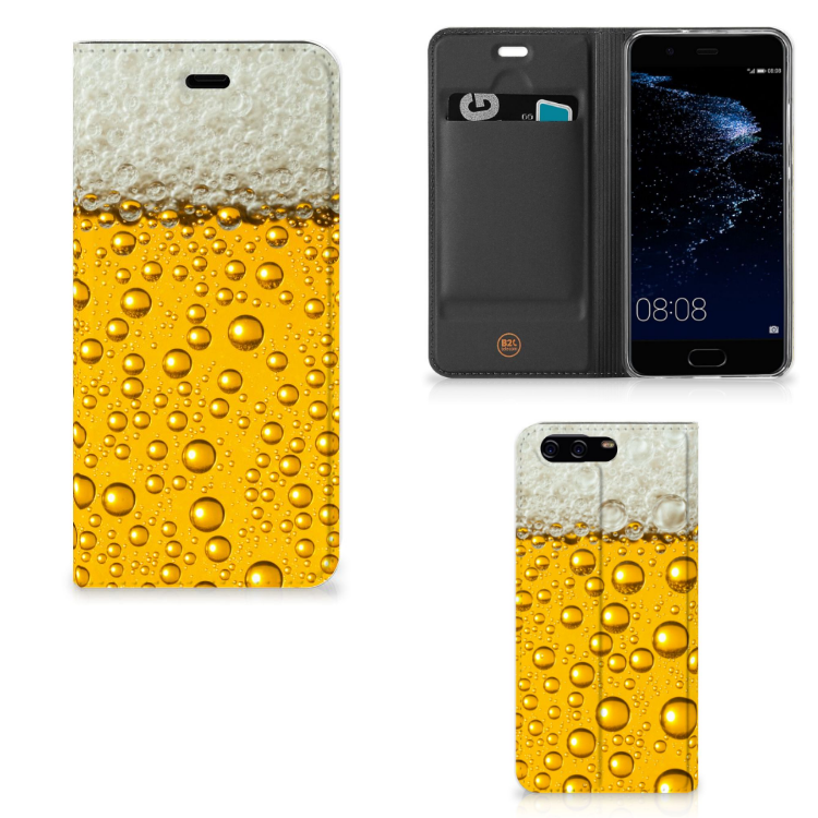 Huawei P10 Flip Style Cover Bier