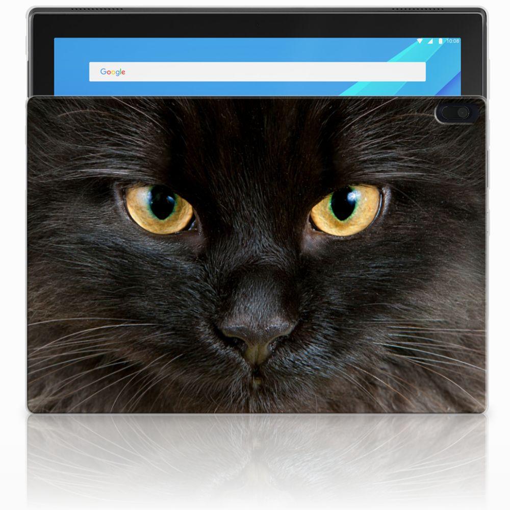 Lenovo Tab 4 10.1 Uniek Tablethoesje Zwarte Kat