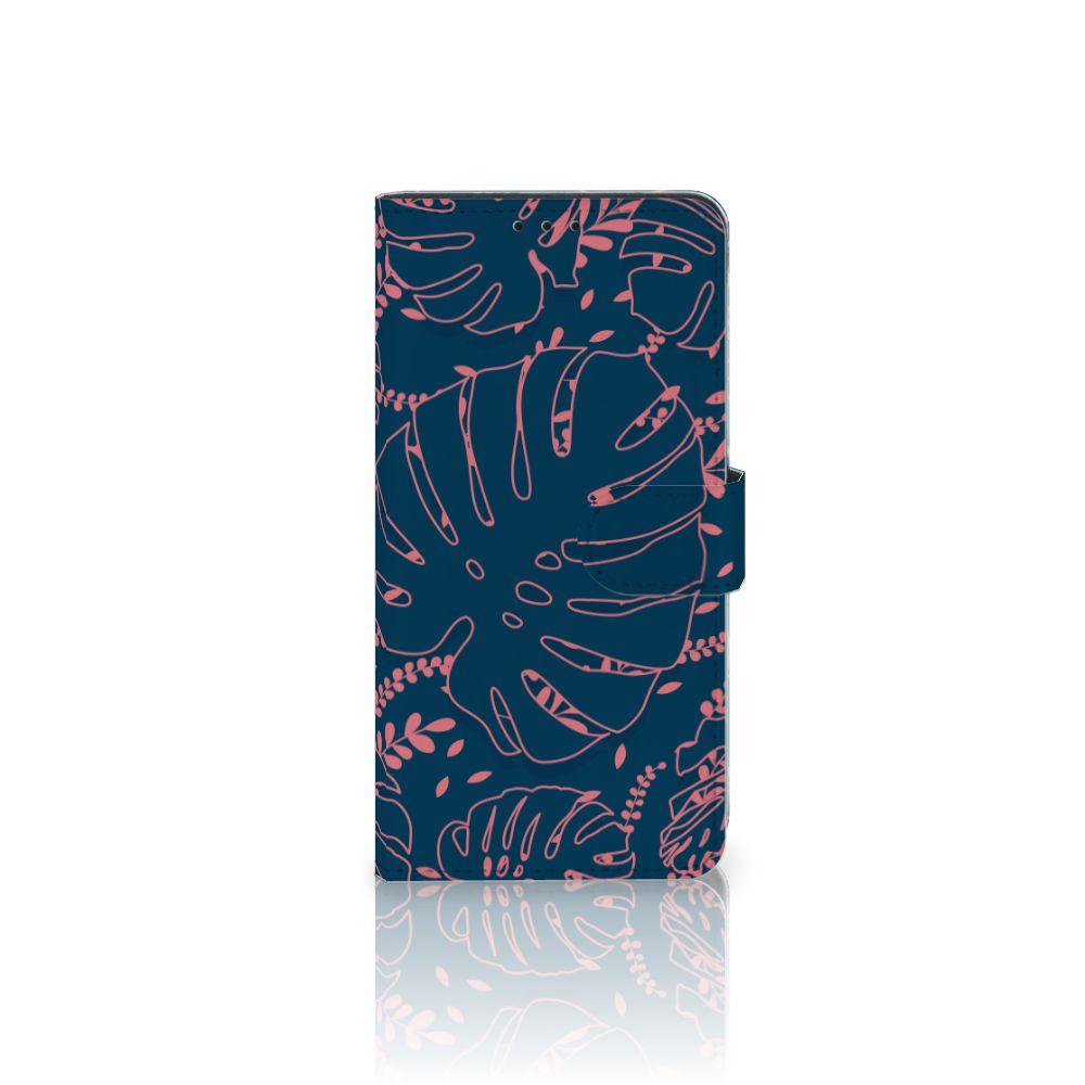 Samsung Galaxy J4 Plus (2018) Boekhoesje Design Palm Leaves