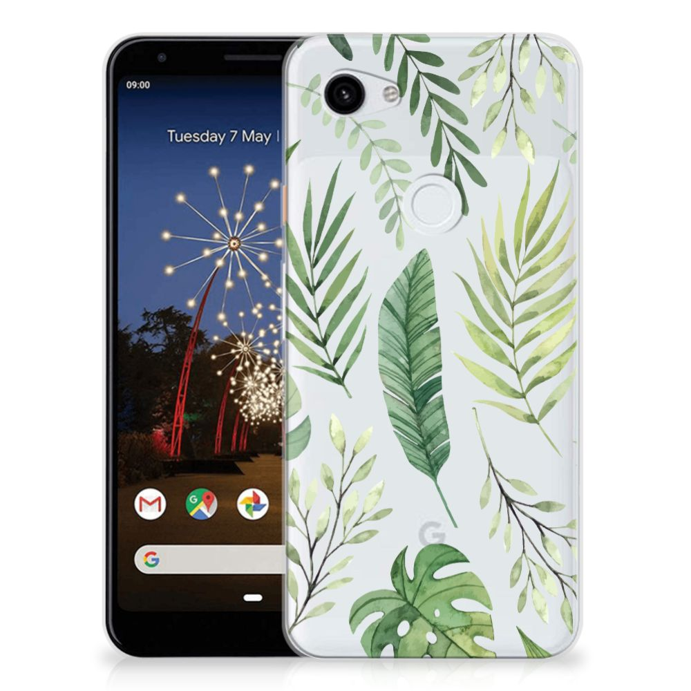 Google Pixel 3A XL TPU Case Leaves