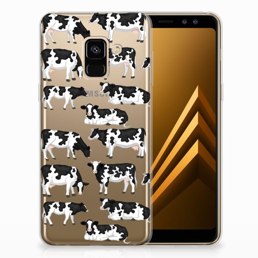Samsung Galaxy A8 (2018) Uniek TPU Hoesje Koetjes