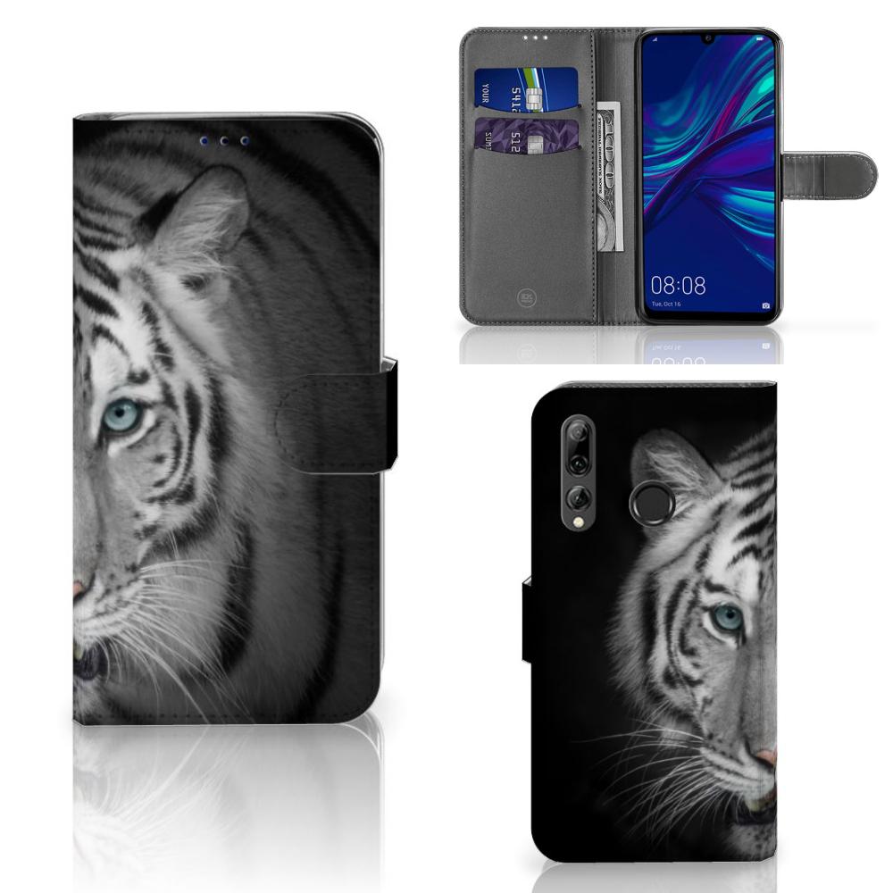 Huawei P Smart 2019 Telefoonhoesje met Pasjes Tijger