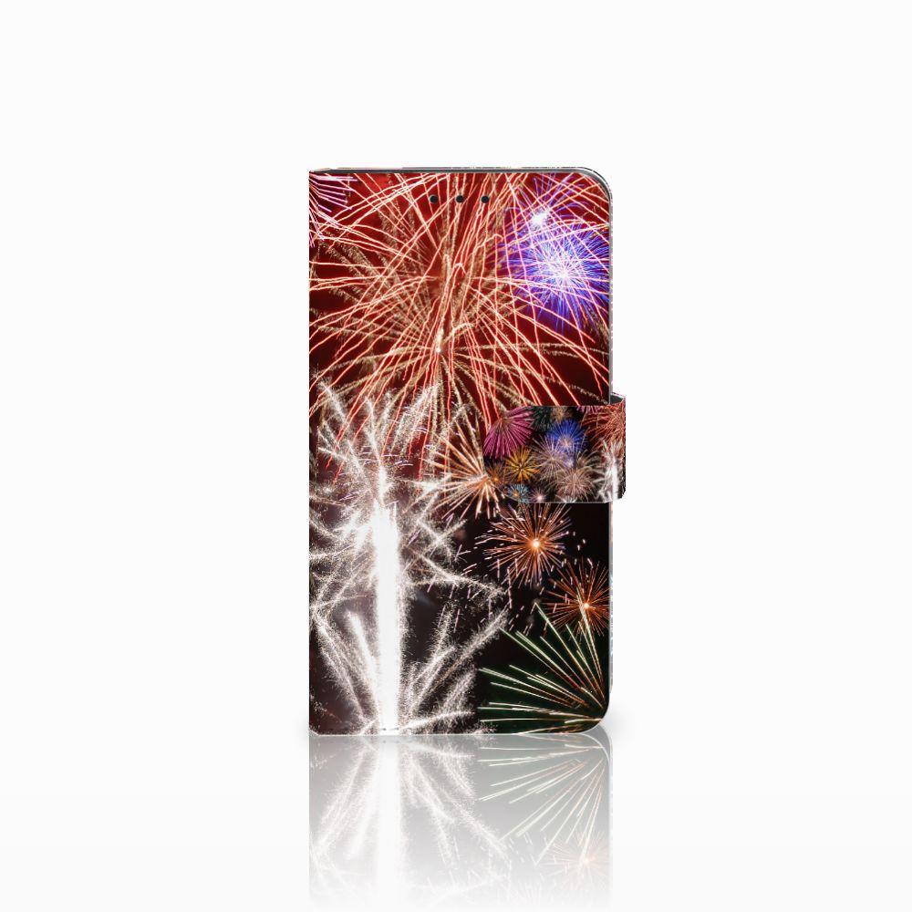 Huawei Honor 6X Boekhoesje Design Vuurwerk