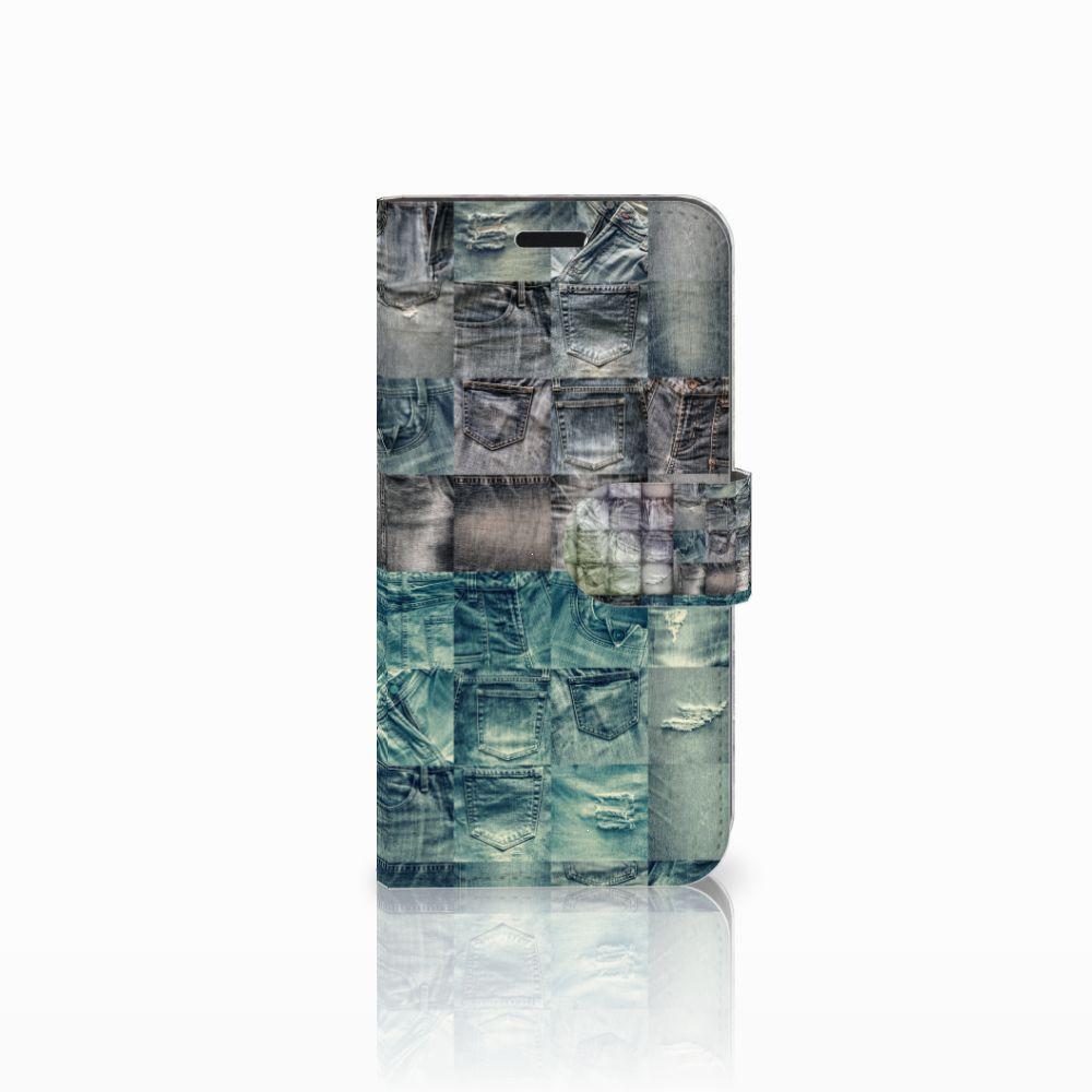Huawei Nova Uniek Boekhoesje Spijkerbroeken
