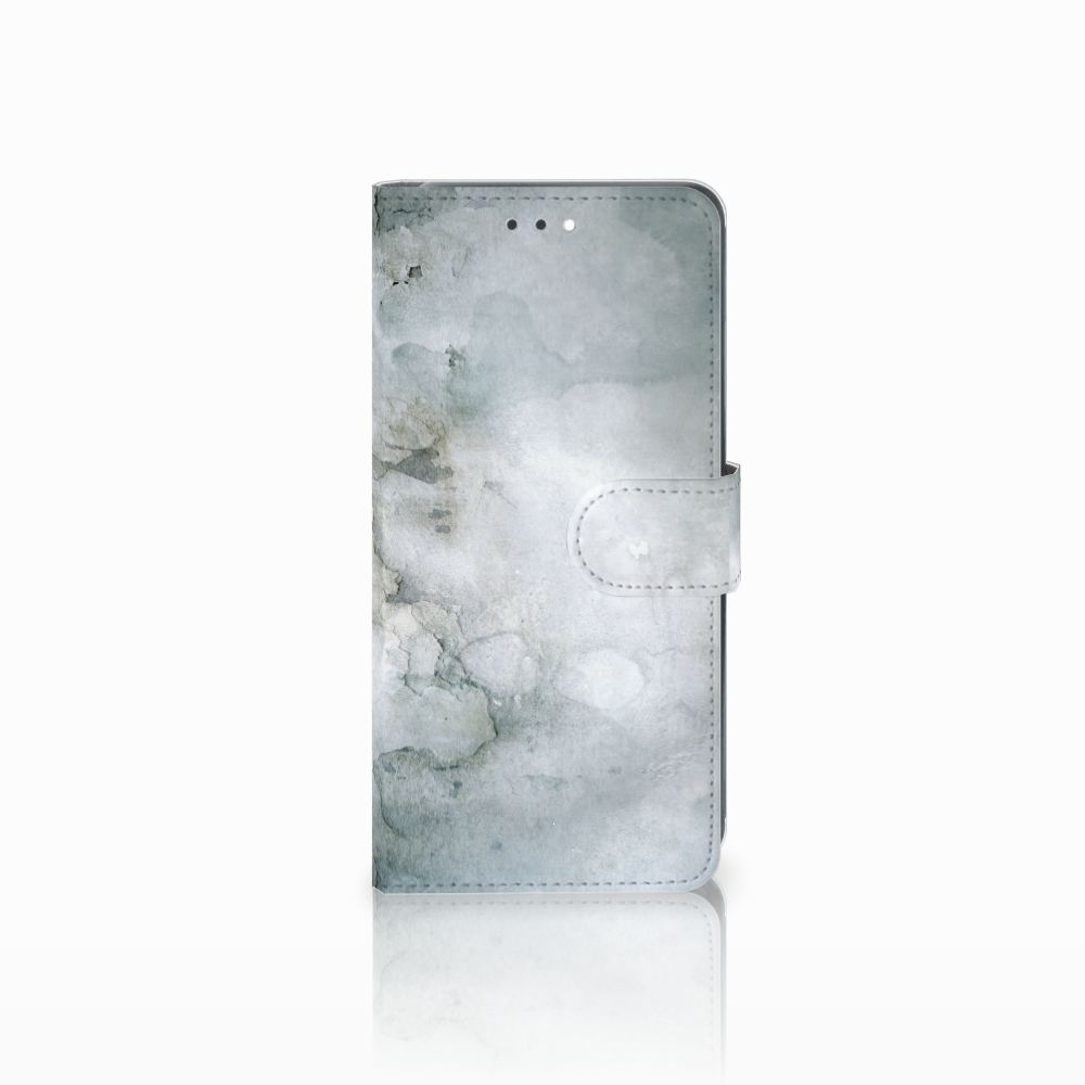 Hoesje Huawei Y7 2018 Painting Grey