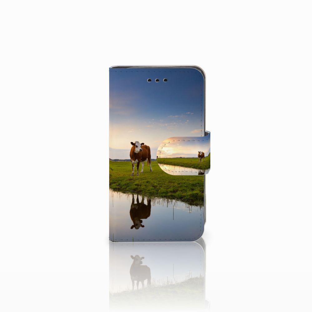 Samsung Galaxy Trend 2 Boekhoesje Design Koe
