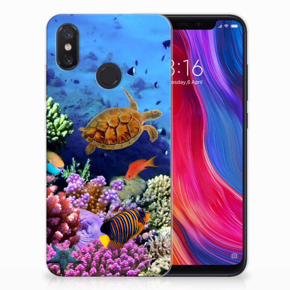 Xiaomi Mi 8 TPU Hoesje Vissen