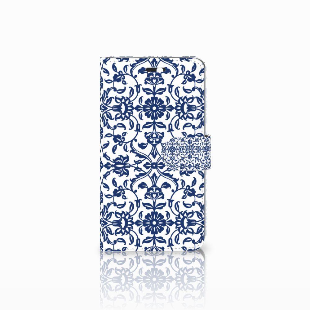 Huawei Y6 II | Honor 5A Boekhoesje Flower Blue