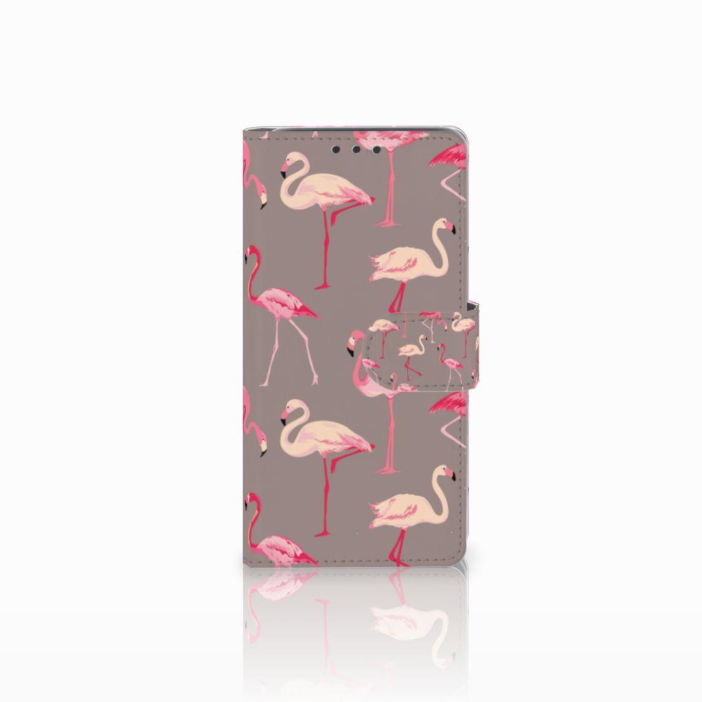 HTC Desire 626 | Desire 626s Uniek Boekhoesje Flamingo