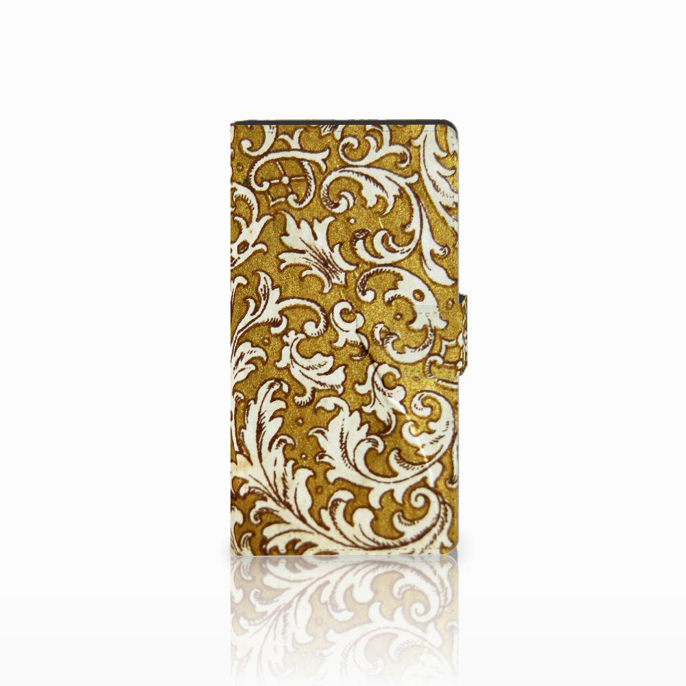 Sony Xperia C4 Boekhoesje Design Barok Goud
