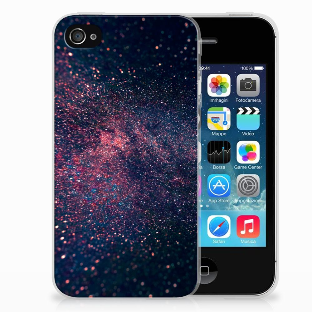 Apple iPhone 4 | 4s TPU Hoesje Stars