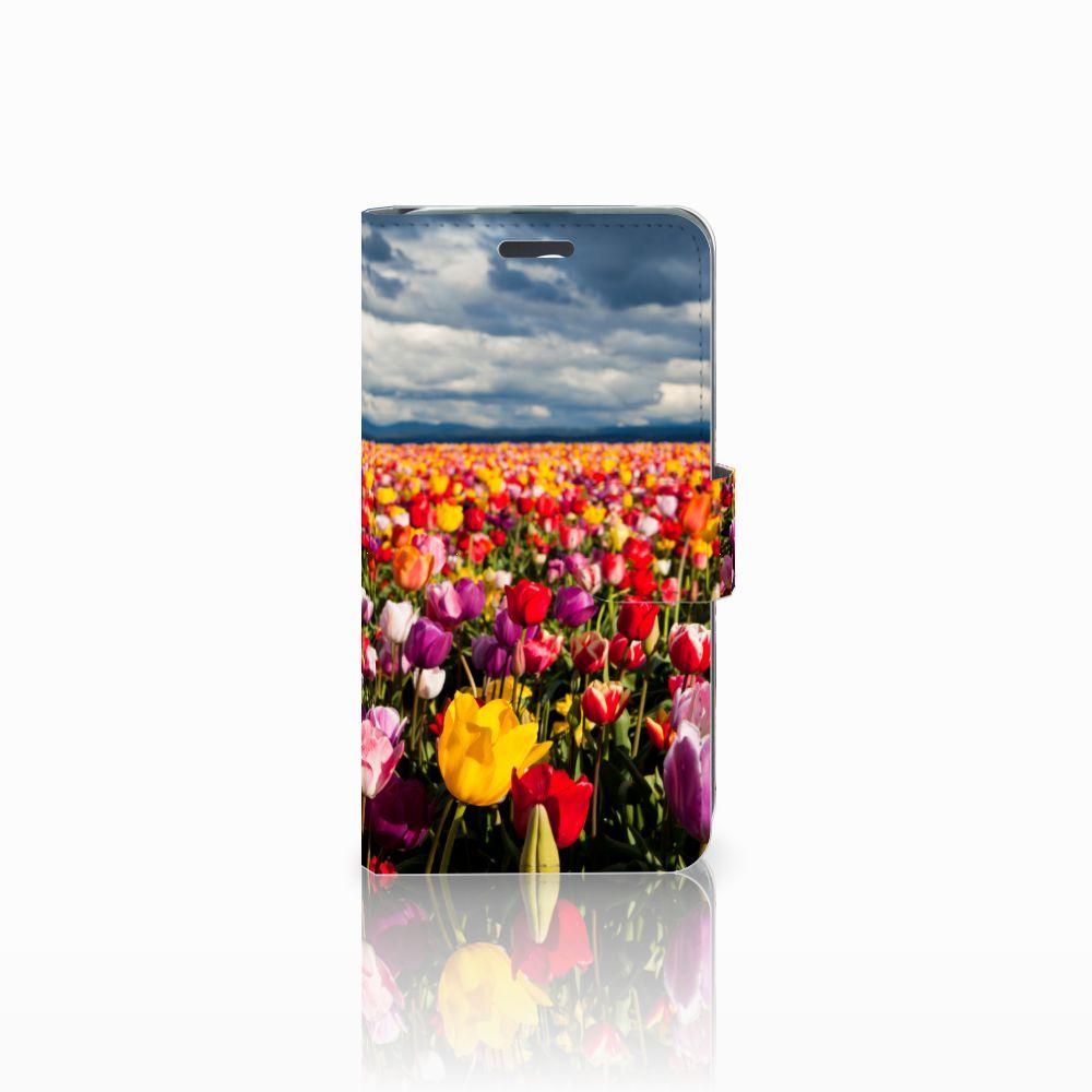 Acer Liquid Z520 Uniek Boekhoesje Tulpen