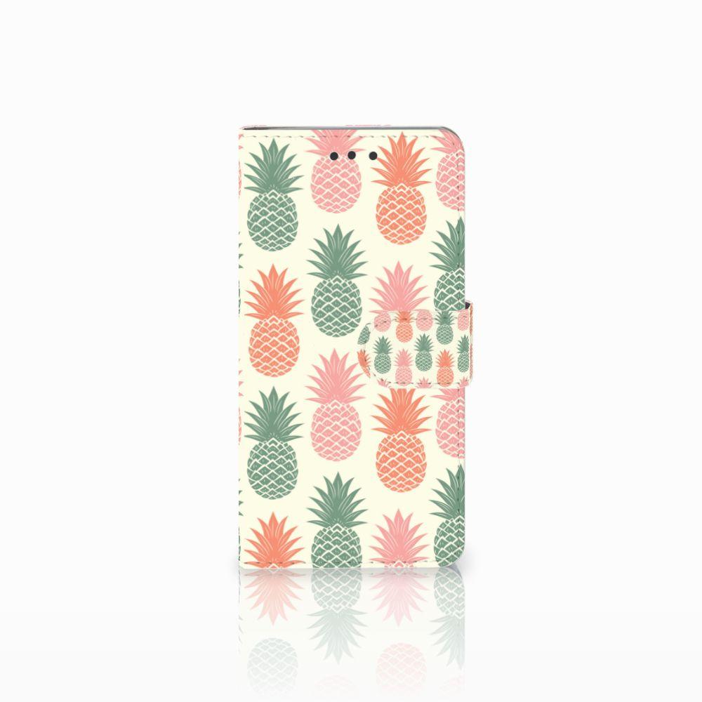 HTC U Play Boekhoesje Design Ananas