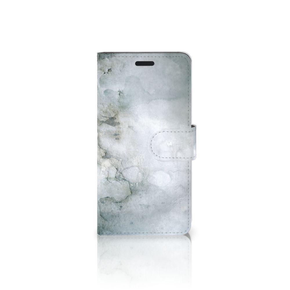HTC 10 Uniek Boekhoesje Painting Grey