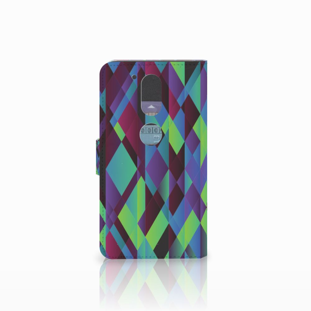 Motorola Moto G4 | G4 Plus Bookcase Abstract Green Blue