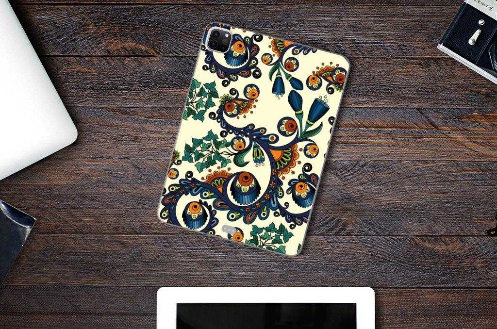 TPU Case iPad Pro 11 inch (2021) | iPad Pro 11 inch (2020) Barok Flower