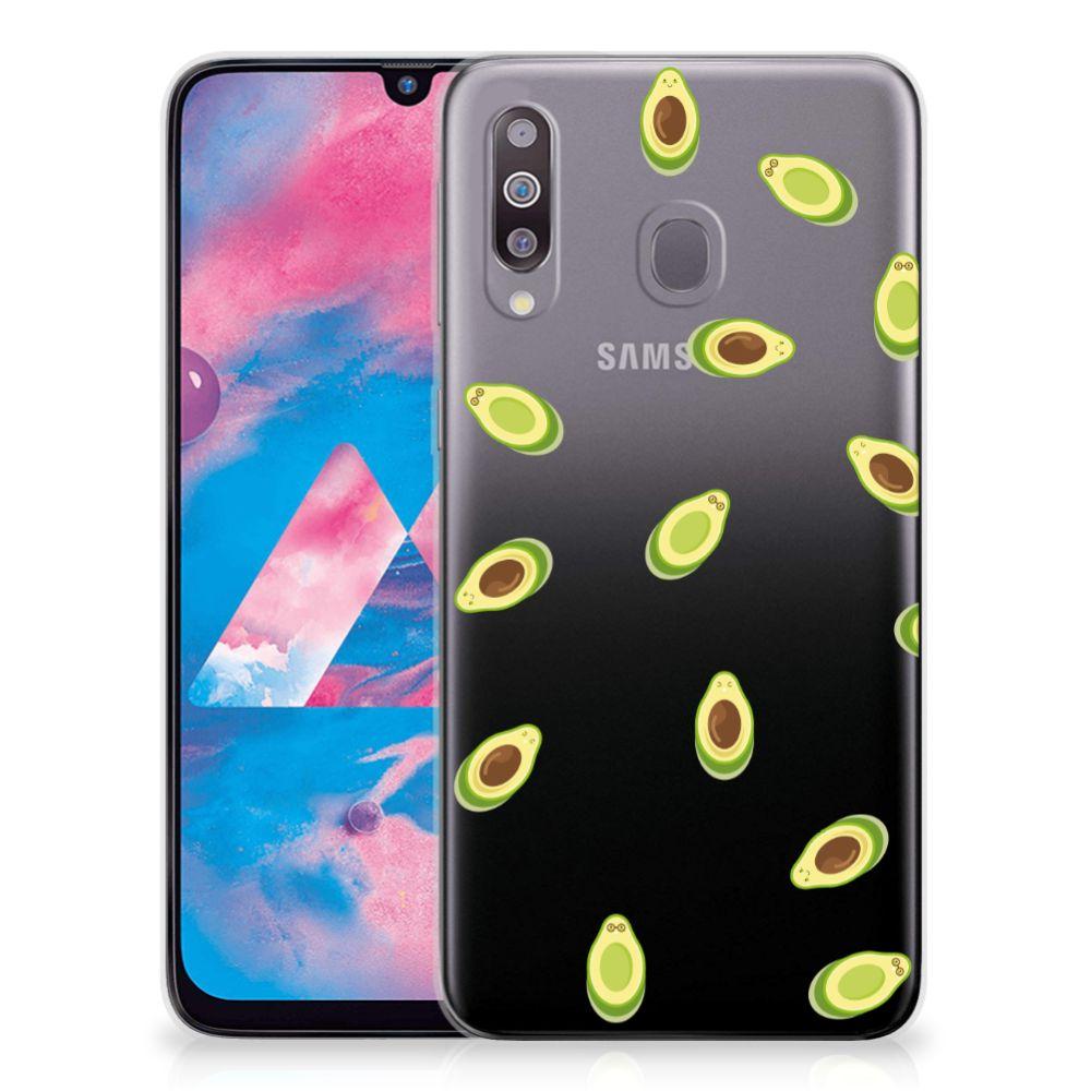 Samsung Galaxy M30 Siliconen Case Avocado