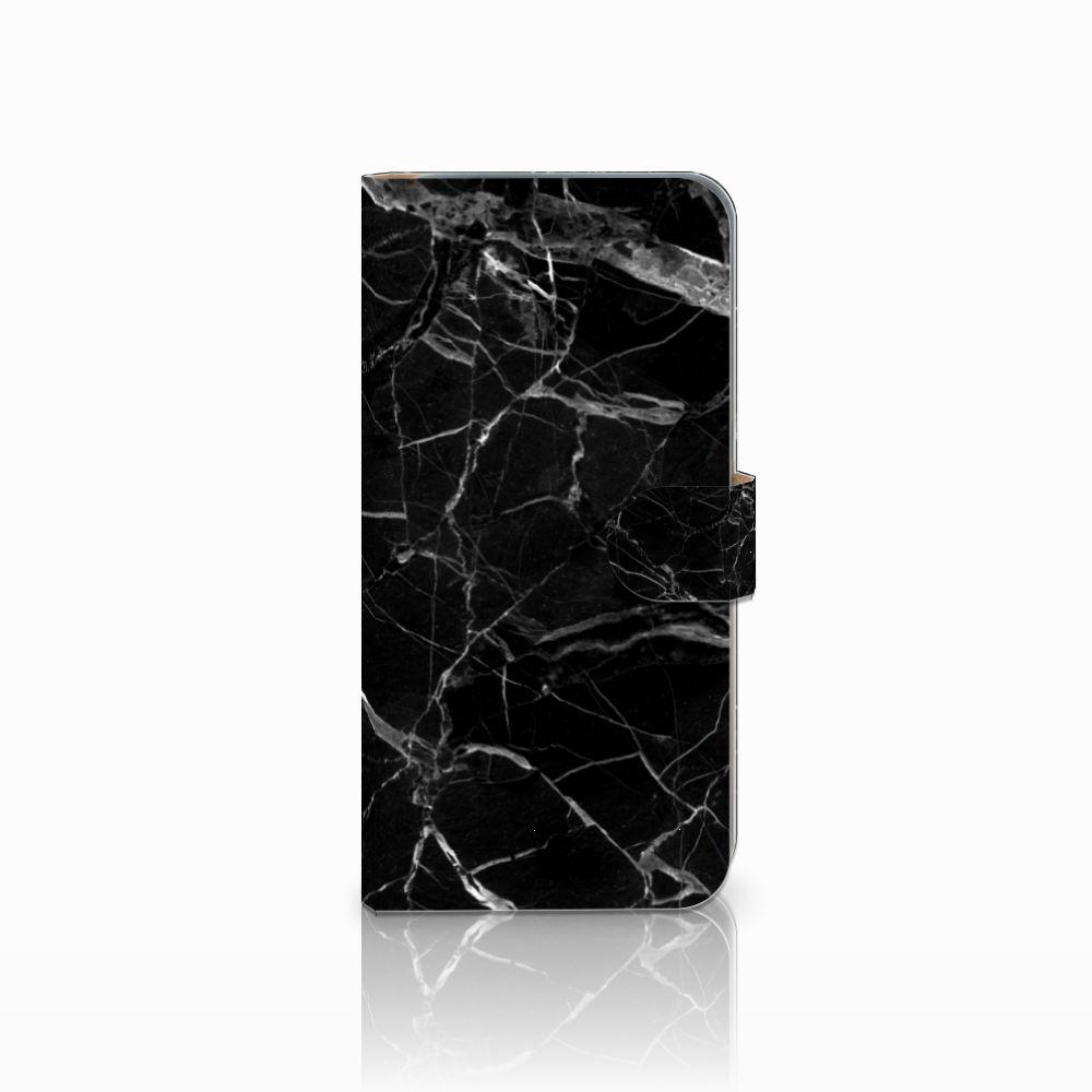 HTC Desire 10 Pro Boekhoesje Marmer Zwart