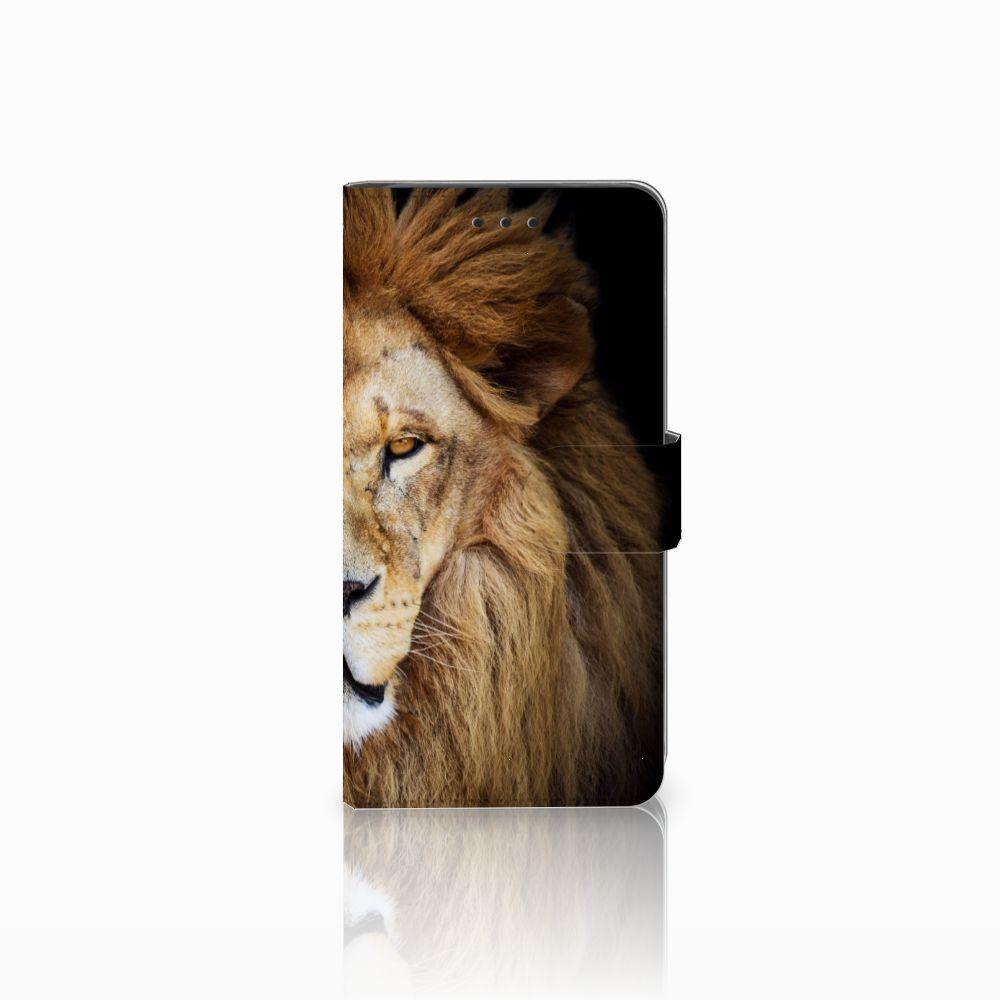 Huawei G8 Telefoonhoesje met Pasjes Leeuw