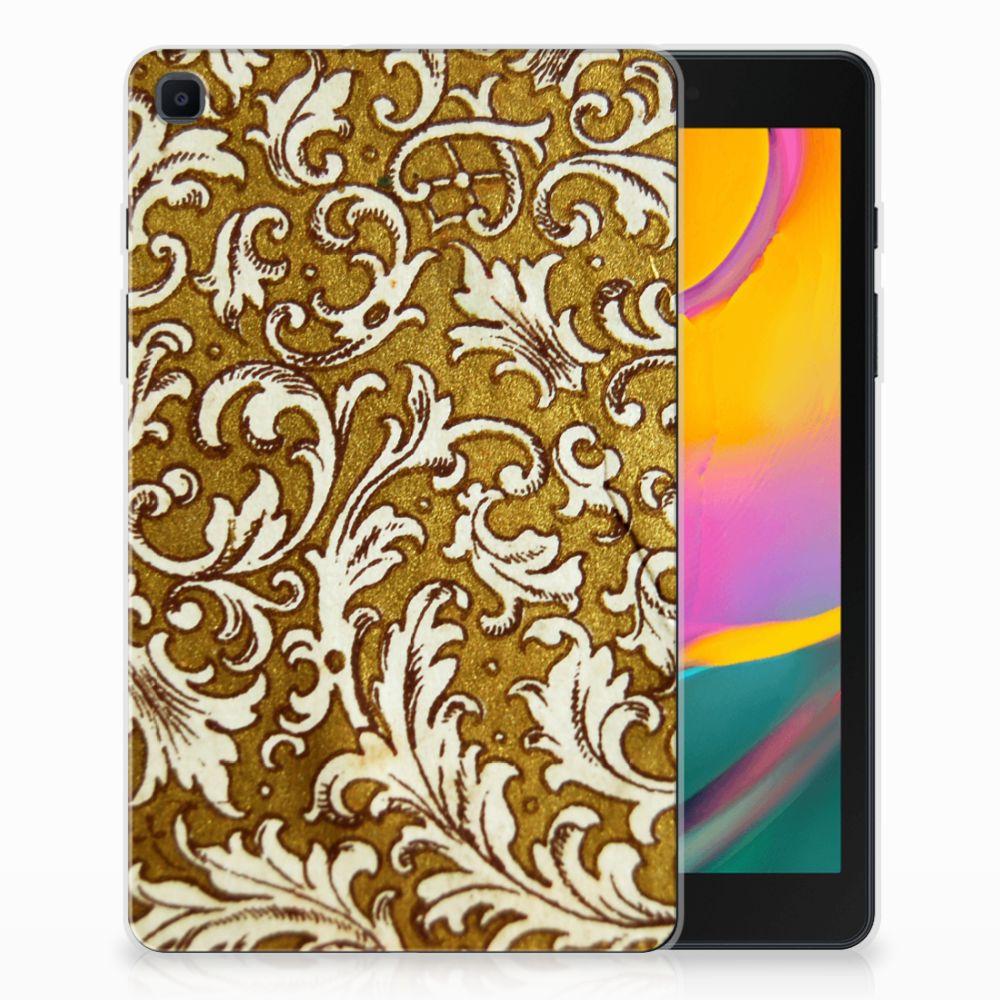 TPU Case Samsung Galaxy Tab A 8.0 (2019) Barok Goud
