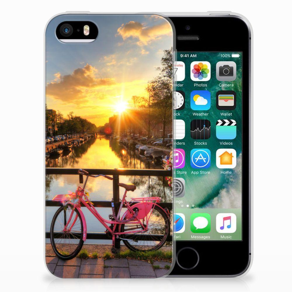 Apple iPhone SE | 5S Siliconen Back Cover Amsterdamse Grachten
