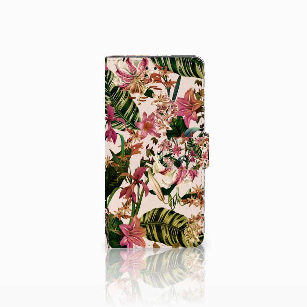 Huawei G8 Uniek Boekhoesje Flowers