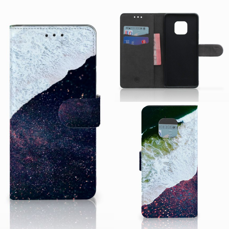 Huawei Mate 20 Pro Bookcase Sea in Space