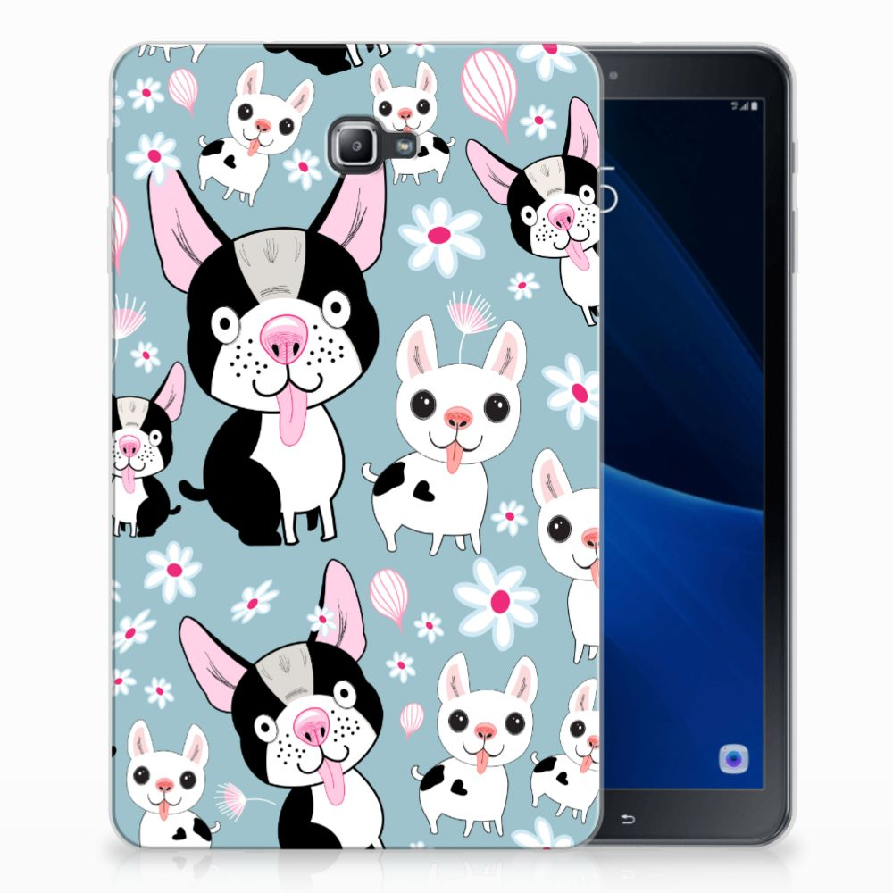 Samsung Galaxy Tab A 10.1 Back Case Hondjes
