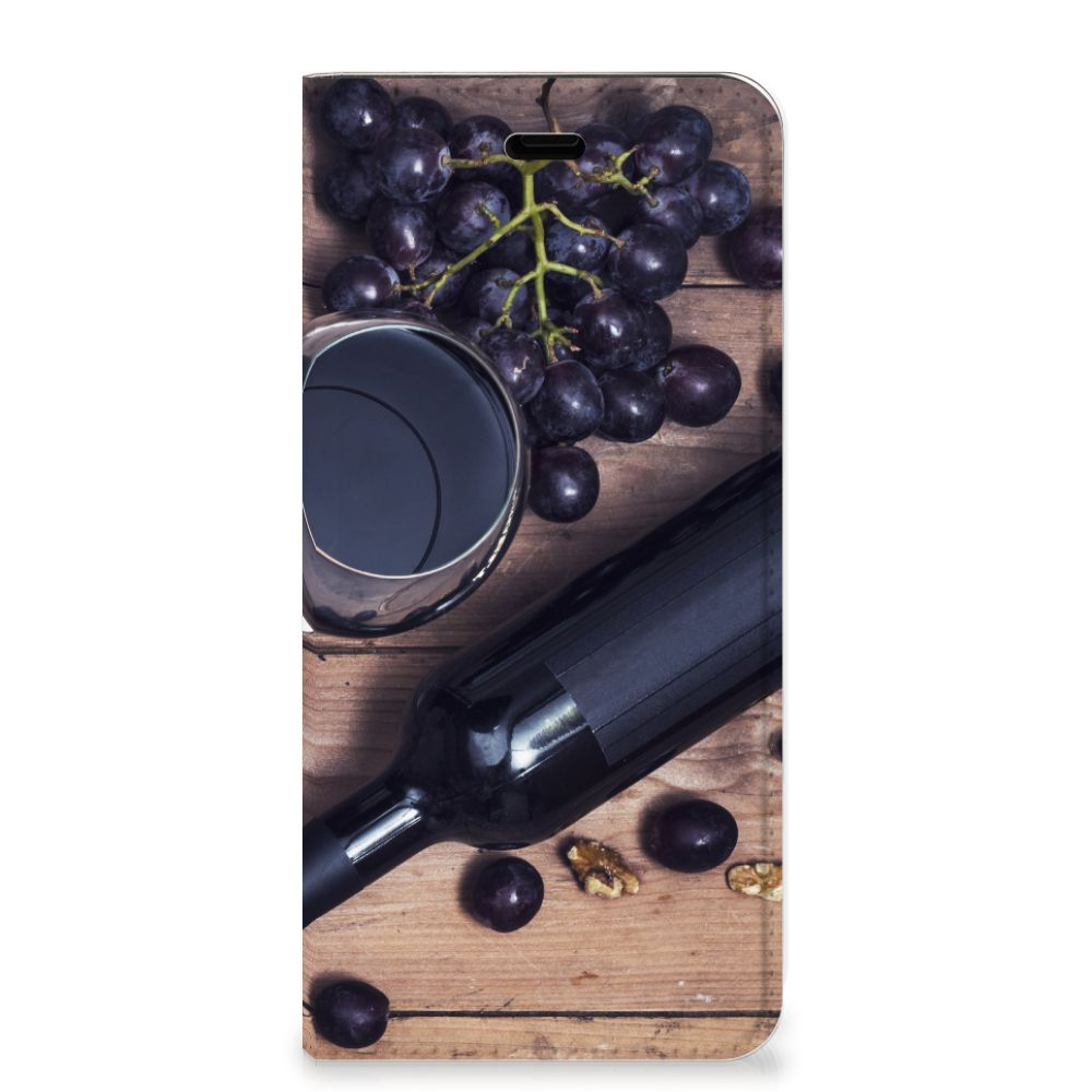 Huawei P10 Flip Style Cover Wijn
