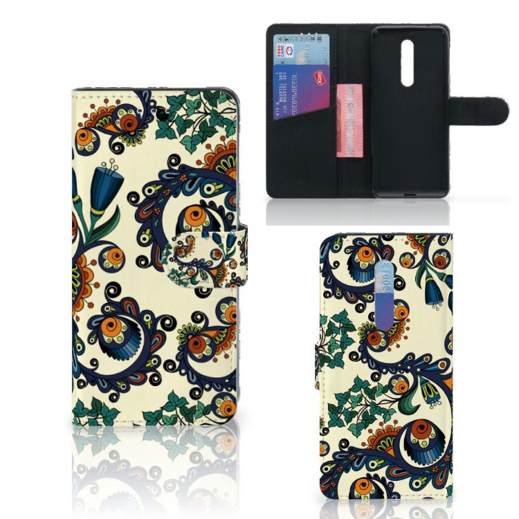 Wallet Case Xiaomi Mi 9T Pro Barok Flower
