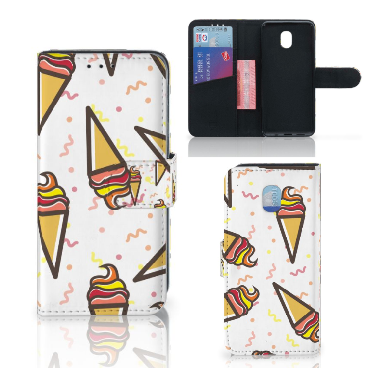 Samsung Galaxy J3 (2018) Book Cover Icecream