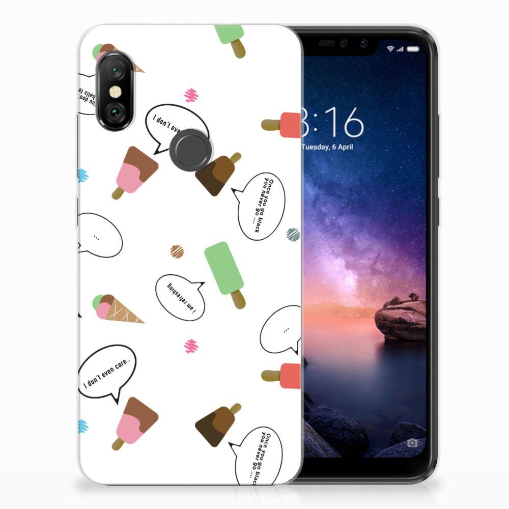 Xiaomi Redmi Note 6 Pro Siliconen Case IJsjes