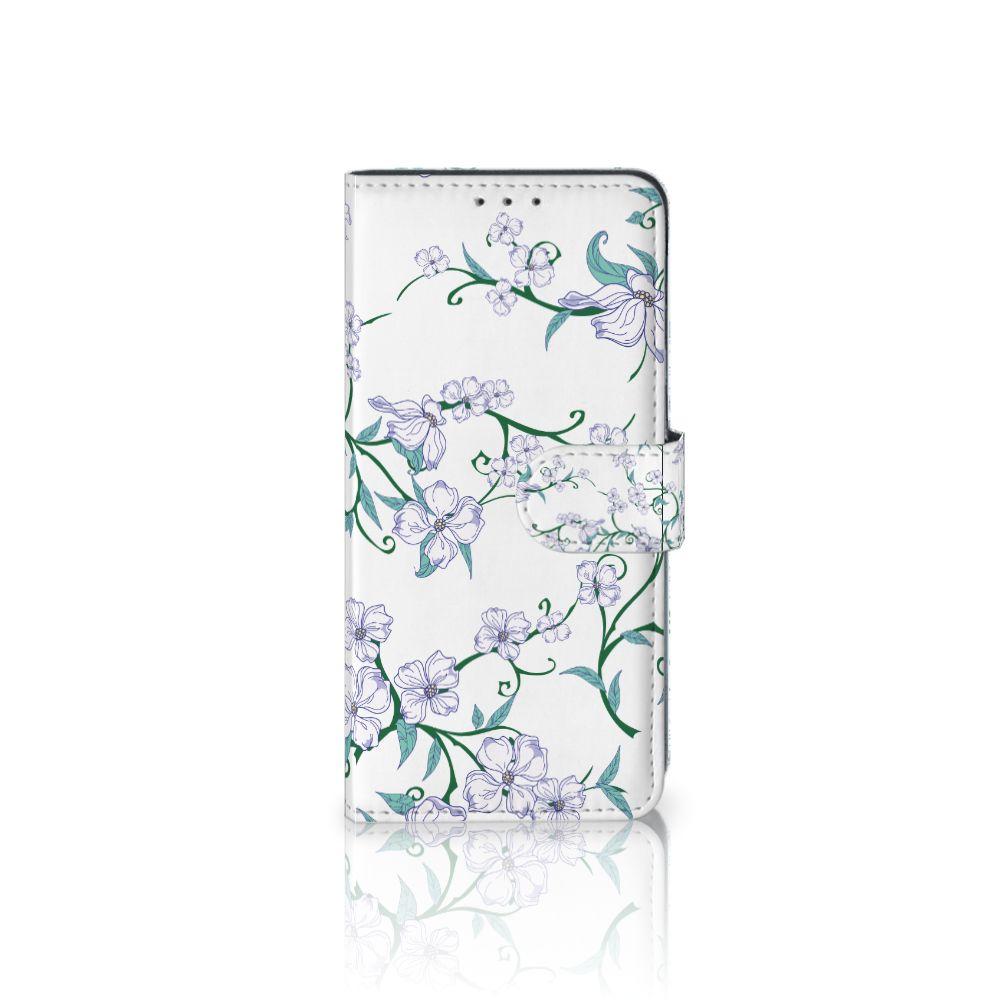 LG V40 Thinq Uniek Boekhoesje Blossom White