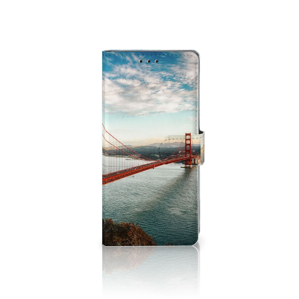 Sony Xperia XA1 Ultra Boekhoesje Design Golden Gate Bridge