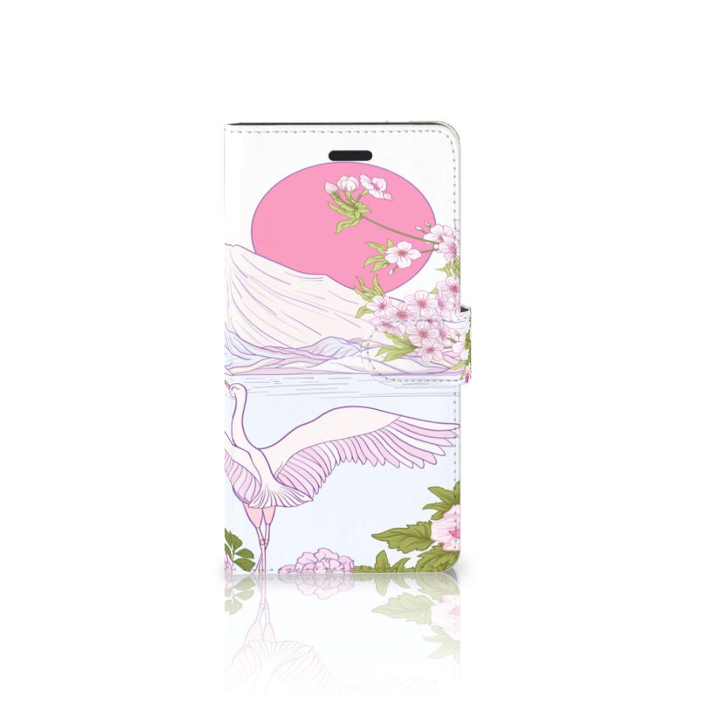 Samsung Galaxy A7 2017 Boekhoesje Design Bird Standing