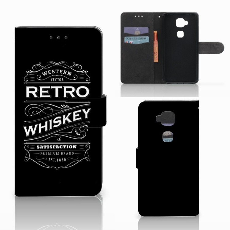Huawei G8 Book Cover Whiskey