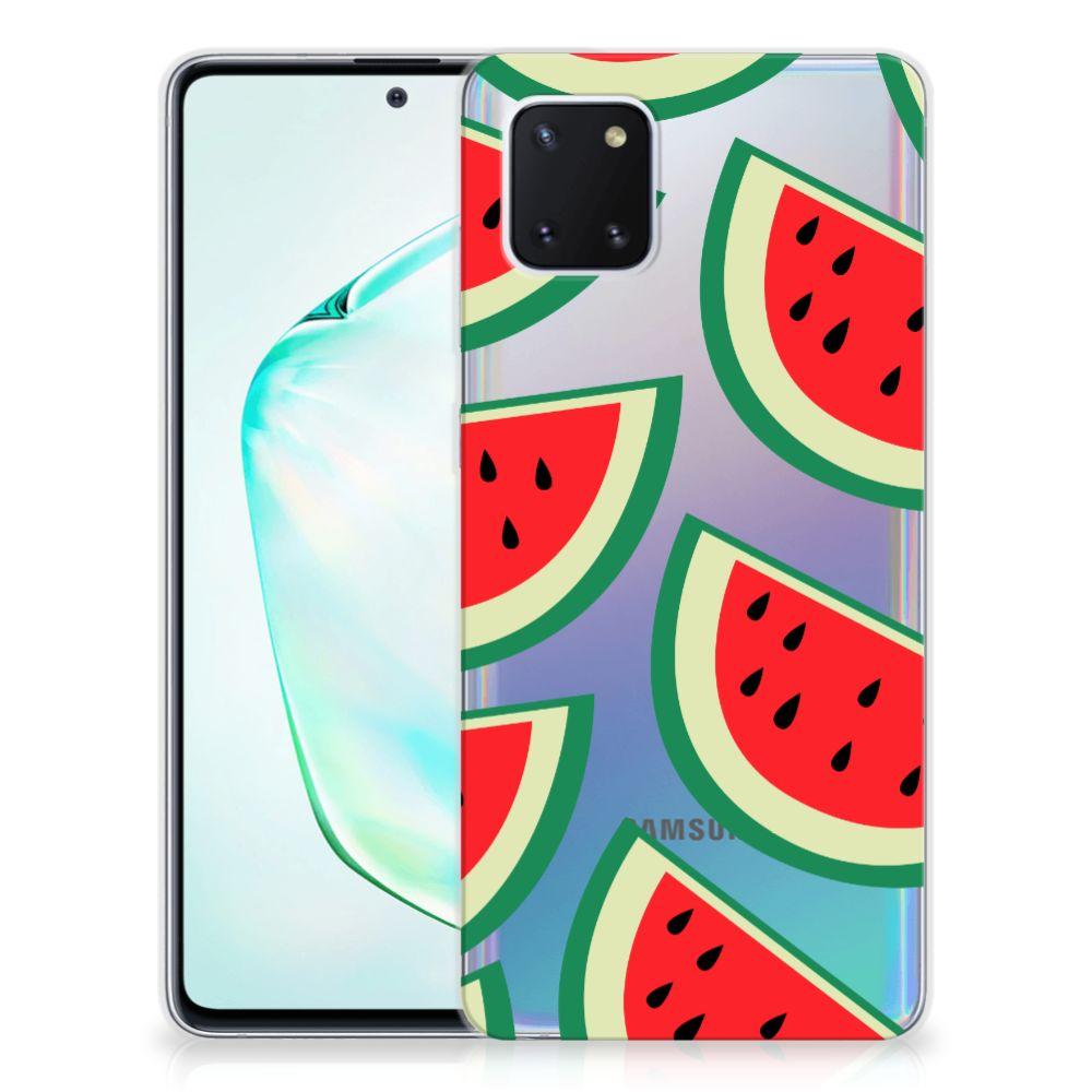 Samsung Galaxy Note 10 Lite Siliconen Case Watermelons