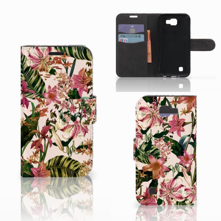LG K4 Hoesje Flowers