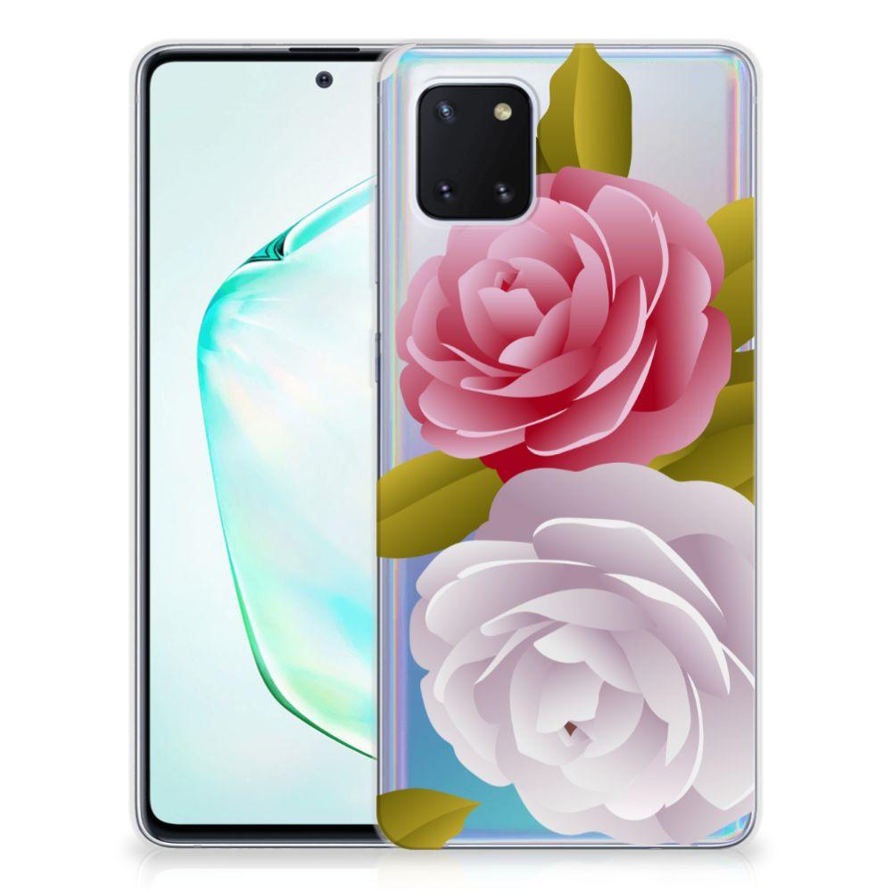 Samsung Galaxy Note 10 Lite TPU Case Roses