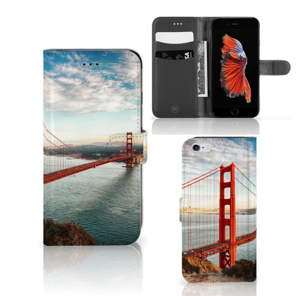 Apple iPhone 6 Plus | 6s Plus Flip Cover Golden Gate Bridge