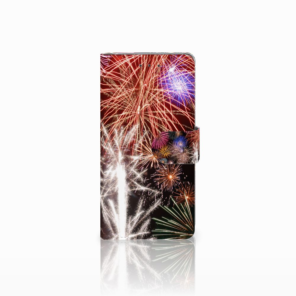 Samsung Galaxy Grand Prime   Grand Prime VE G531F Boekhoesje Design Vuurwerk