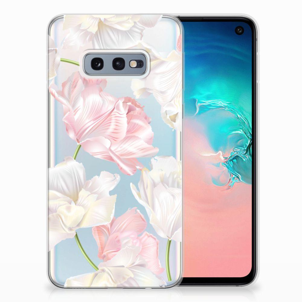 Samsung Galaxy S10e TPU Hoesje Design Lovely Flowers