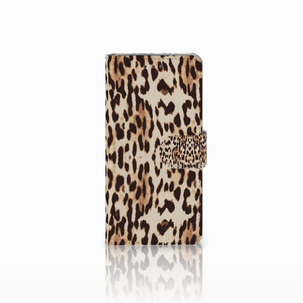 Wiko Lenny 2 Uniek Boekhoesje Leopard