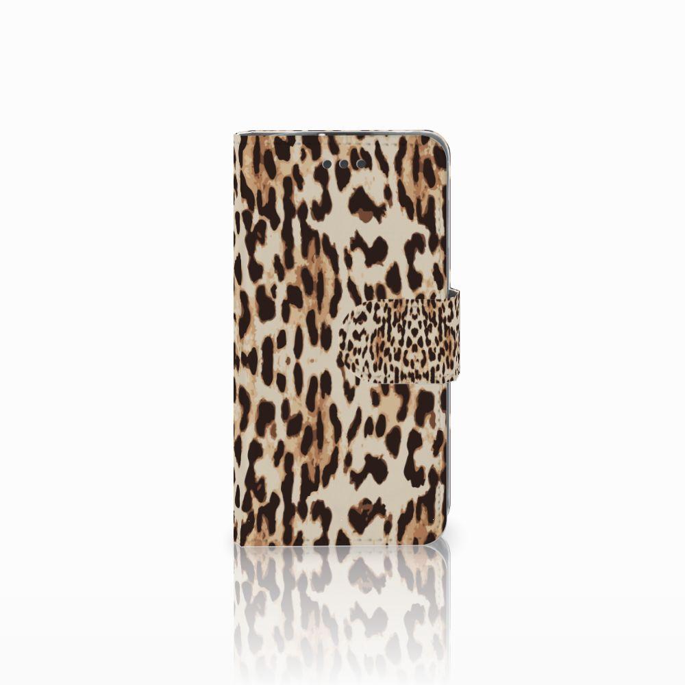 LG L70 Uniek Boekhoesje Leopard