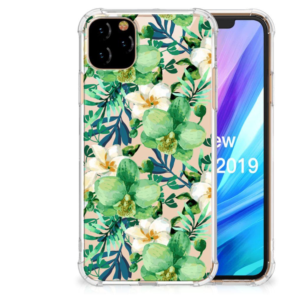 Apple iPhone 11 Pro Max Case Orchidee Groen