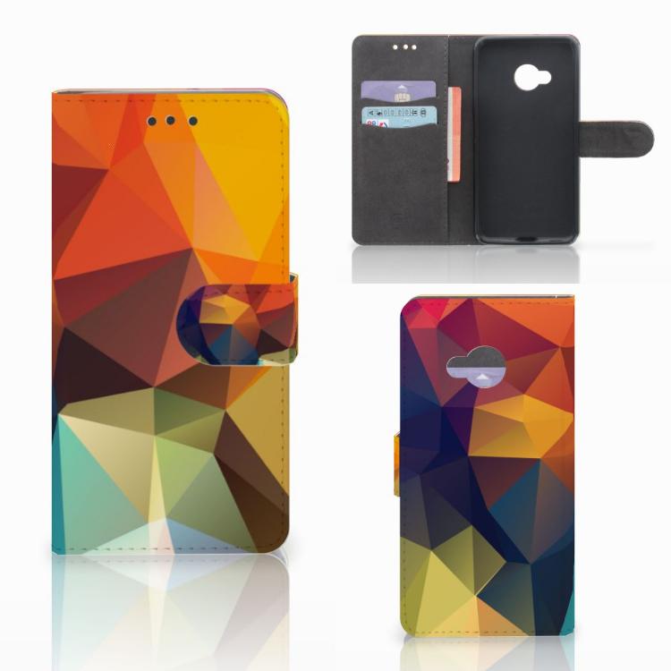 HTC U Play Bookcase Polygon Color
