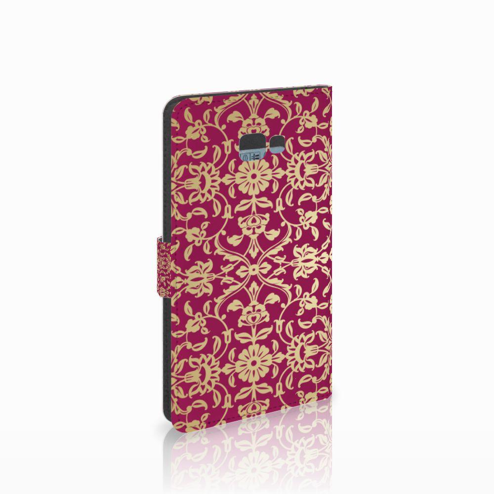 Samsung Galaxy J4 Plus (2018) Boekhoesje Design Barok Pink