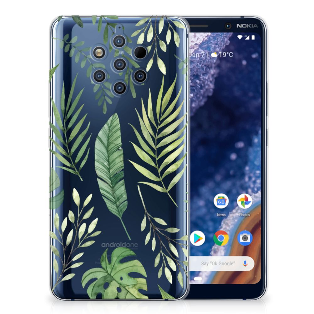 Nokia 9 PureView TPU Case Leaves
